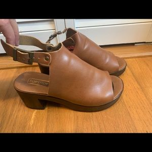 Topshop lightweight clogs
